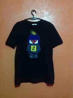 FENDI BUG KUN TSHIRT SMALL