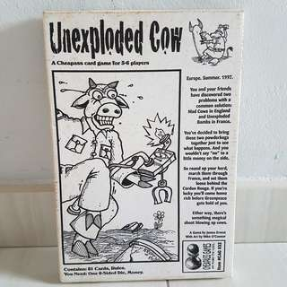 Unexploded cows