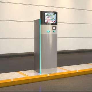 Carpark 停車場系統 Parking 出口入口控制器出入口控制機連系統安裝方案