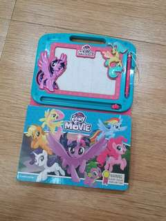 My little pony book writting