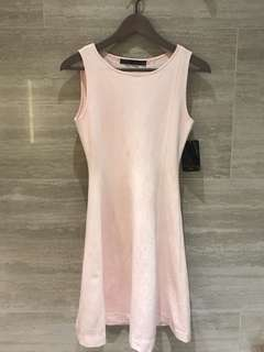 Zara light pink elegant dress ( no bargain! )不議價