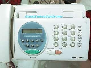 Sharp Tel/Fax Machine
