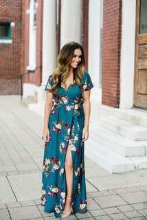 Cross Cut Dress