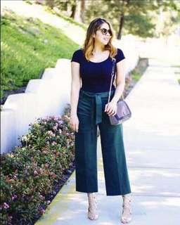 Trendy terno square pants