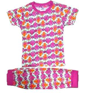COTTON PYJAMAS TROLLS GIRL SET 1Y