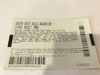 SEA aquarium ticket