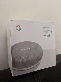 *** WTS : Lowered price - (NEW) Google Home Mini (CHALK Color)