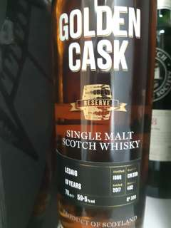 "Golden Cask ""Ledaig 19 years"""