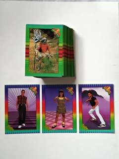1994 Saban's Mighty Morphin Power Rangers New Season Cards
