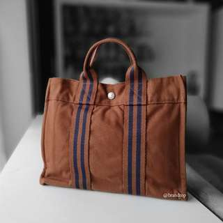 Authentic Hermes Herline Tote