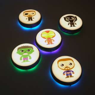 UFO LED Light - Wireless and Rechargeable Lamp with Touch Sensor