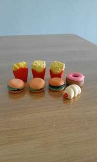 Erasers (Fast Food)