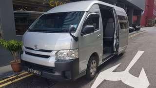 13 seater minibus transport services