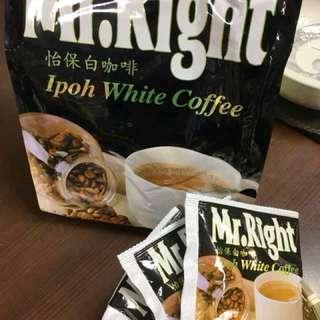 🚚 Mr.Right 怡保白咖啡 2in1 (30g*15包入)