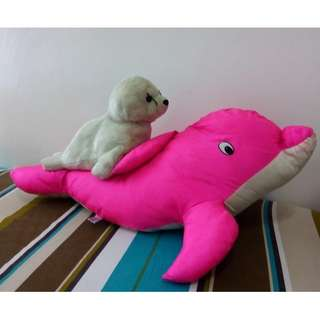 Pink Dolphin & Sealion