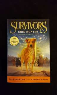 Survivors ~ The Empty City & A Hidden Enemy by Erin Hunter
