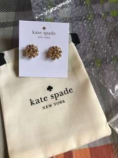 Kate Spade Earrings Gold color