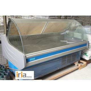 Meat Chiller Showcase 1.5meter Fan cooling (Brand New on STOCK)