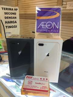 Iphone 8 plus kredit aeon / cash