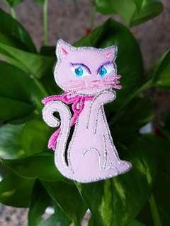 Iron On Patch/ Applique   ↪ Pink Cat  💱 $3.90 Each Piece
