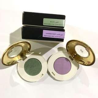 Authentic H&M Eyeshadow Bundle- Lavander & Green