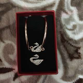 Swan Jewelry Set [ Bracelet + Ring ]