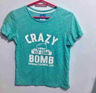 🚚 Crazy bomb T恤