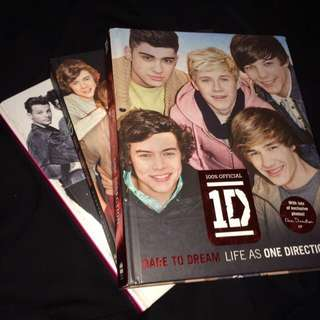 [1set] 1D Biography Books