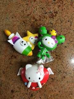 Hello Kitty x tokidoki figurines