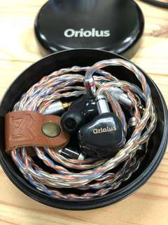 Oriolus 2017 with Aug-Line Aug-Silver-Pt mixed balanced cable