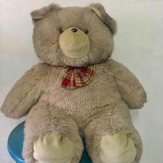 Giant stuffed bear