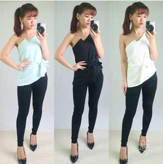 Side blouse sabrina outfit
