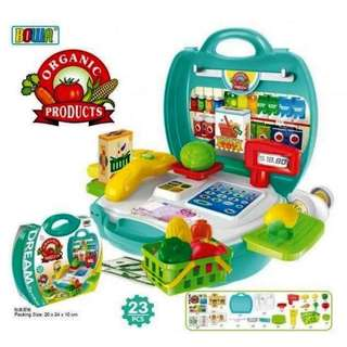 Organic Product Grocery Playset (Bowa Dream the Suitcase)