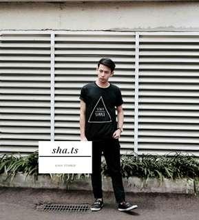 tshirt/kaos tumblr pria stay simple