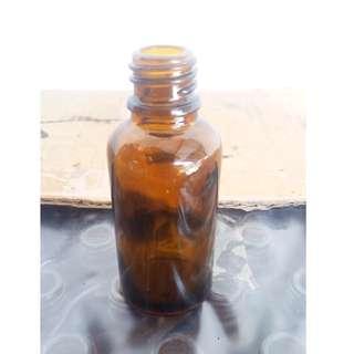30ml Bottle Amber Black