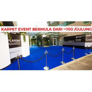 OFFERING EVENT CARPETS FOR SPECIAL EVENTS!!🙂