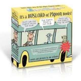 Its a bus load of Pigeon Books