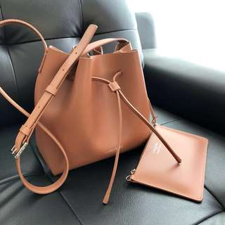 Lancaster Bucket Bag in Tan