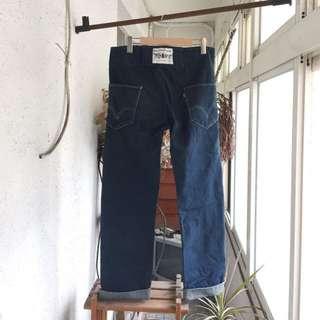 🉐️ 🇯🇵 古著 Vintage / Levis 牛仔褲 直筒 寬版 鈕釦 厚磅