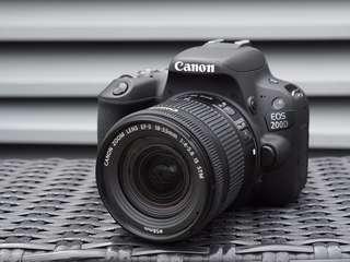 Canon EOS 200D KIT 18-55MM DSLR Kredit Kamera Proses Cepat