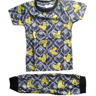 Cotton Pyjamas Set Duck