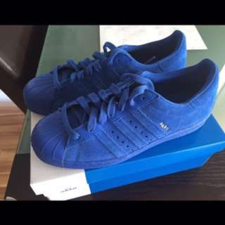 NikexAdidas RARE paris limited edition Blue suede leather