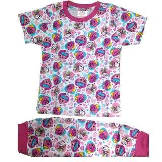 Cotton Pyjamas Girl Set Muffin