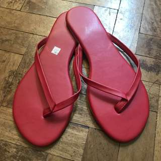 Tkees inspired flops (red)