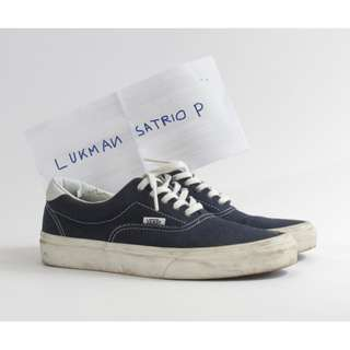 Vans Era 59 Ella Dress Blue Navy 10 oz Canvas