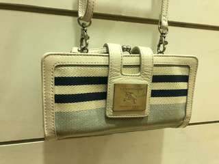 Burberry blue label sling bag
