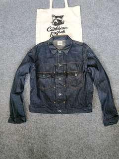 blue way trucker jacket
