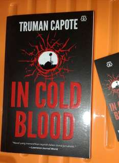 Jual cepat Novel Truman Capote: In Cold Blood