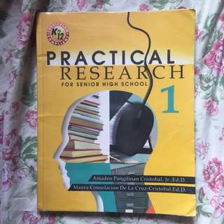 Grade 11 Books (Practical Research 1)
