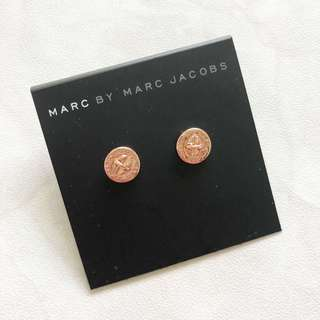 Marc Jacobs 耳環 玫瑰金 MBMJ Marc By Marc Jacobs Earring